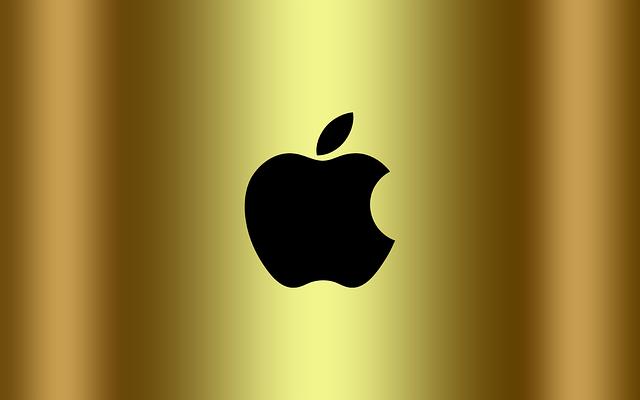 Apple na zlatě
