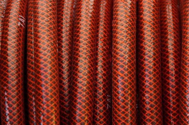 červená hadice