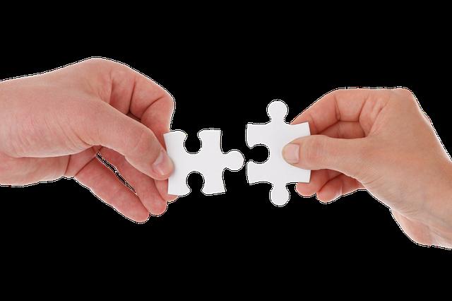 spojení puzzle